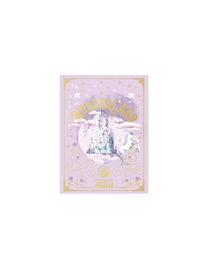 JESSICA - 2nd Mini Album -WONDERLAND CD + Poster