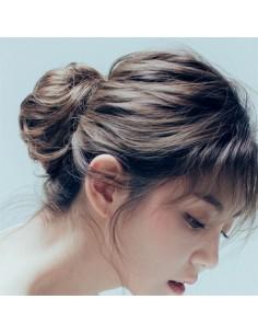 [ Pinkage ] Hair Bun  Wig : MANDU - Small