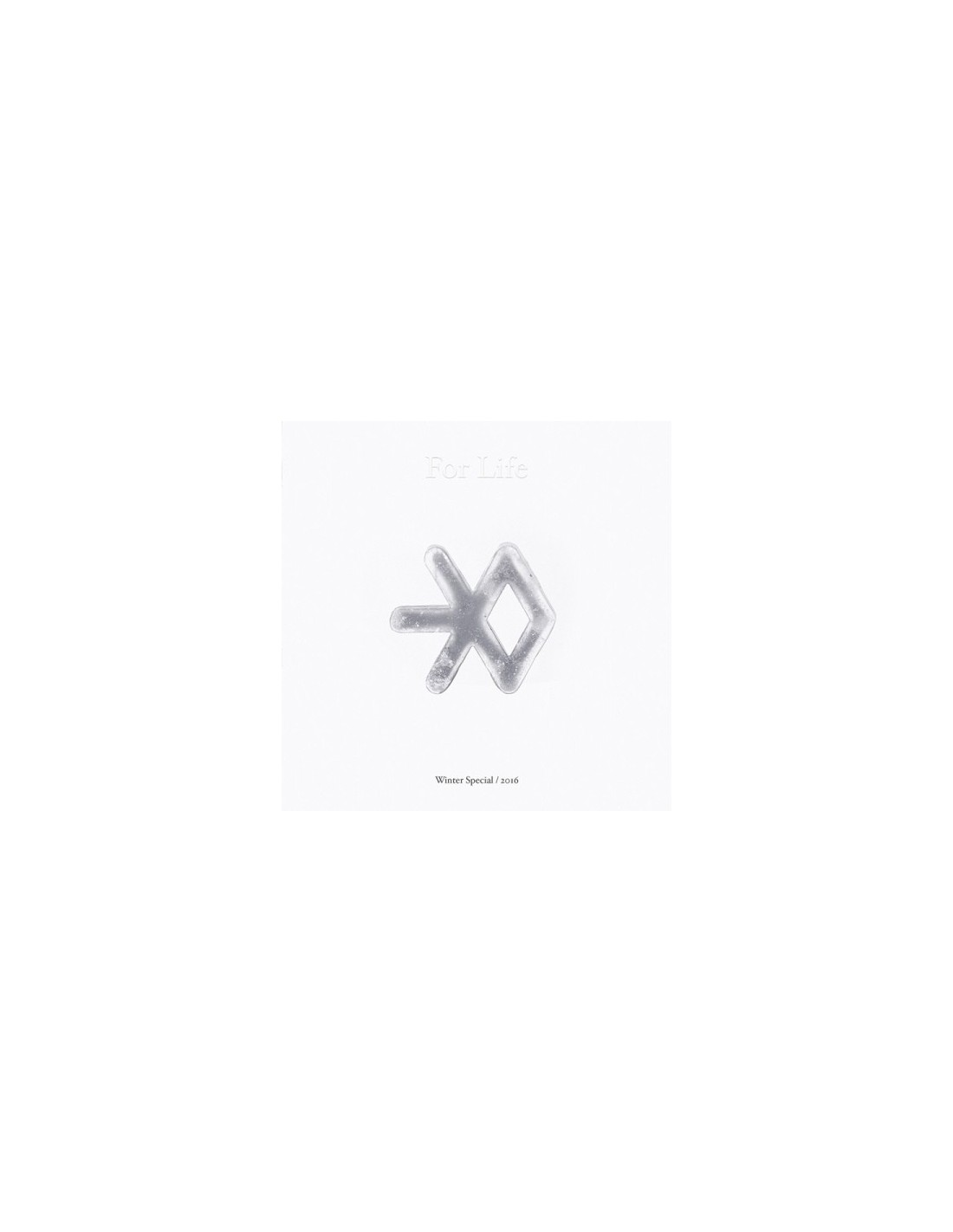 exo winter special album 2016 2cd poster. Black Bedroom Furniture Sets. Home Design Ideas