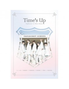 TOPSECRET - TIME'S UP (1ST MINI ALBUM) + Poster