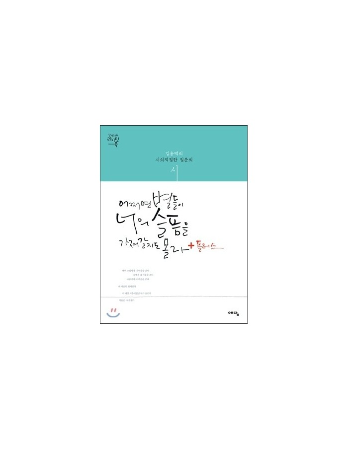 [Book] Caligraphy Writing Book - 어쩌면 별들이 너의 슬픔을 가져갈지도 몰라 + PLUS (Vol.2)