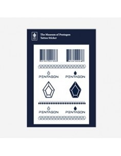 PENTAGON The Musum of Pentagon - Tattoo Sticker
