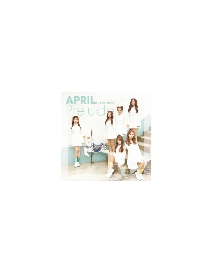 APRIL - PRELUDE 3rd Mini Album CD + Poster [Pre-Order]