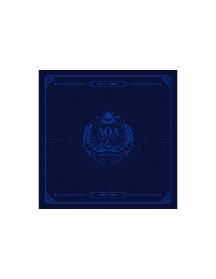 AOA - VOL.1 ANGEL'S KNOCK (B VER) CD + Poster