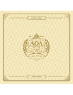 AOA - VOL.1 ANGEL'S KNOCK (A VER) CD + Poster
