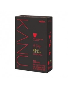MAXIM KANU Dark Colombia Dark Roast Instant Coffee 10 Sticks POUCH 1.6g x10 Pcs