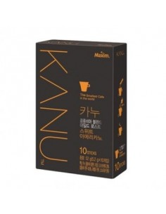 MAXIM KANU Colombia Blend Mild Roast Sweet Americano Instant Coffee 10 Sticks POUCH 5.2g x10 Pcs
