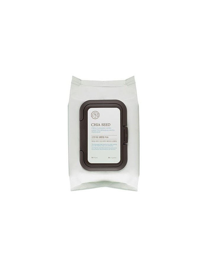 [Thefaceshop] Chia Seed Fresh Cleansing Wipes 50sheets