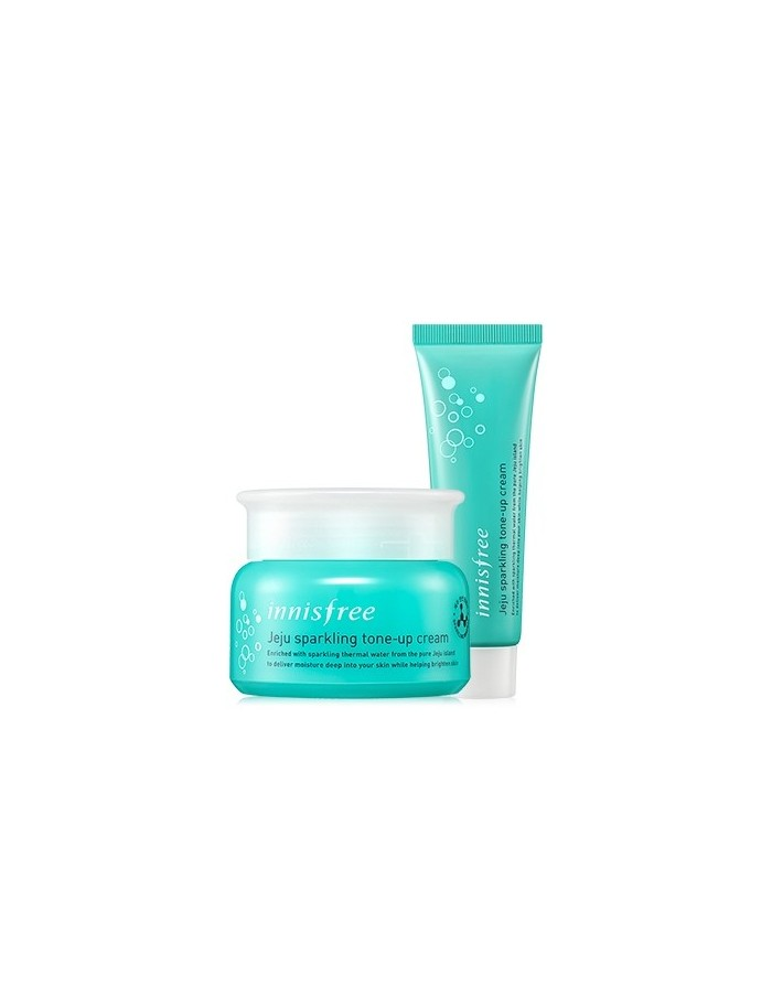 [INNISFREE] JEJU Sparkling Tone-Up Cream 50ml