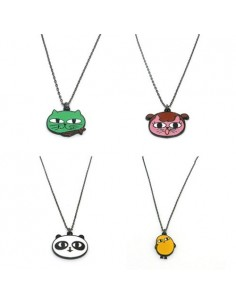 OKCAT - Character Necklace (4Kinds)