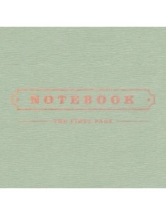 Park Kyung  BLOCK B - 1st Mini Album NOTEBOOK CD + Poster