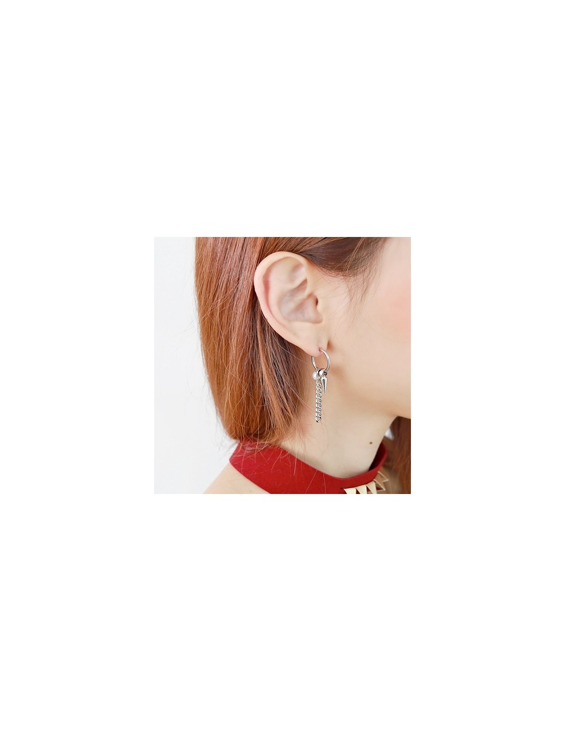 038659539 BB122] GD G-Dragon Style Heint Piercing & Non Piercing