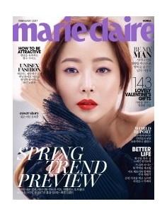 [Magazine] Marie Claire 2017-02  MINHO(SHINEE) JI CHANGWOOK