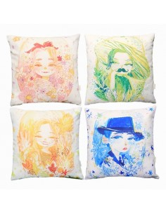 MAMAMOO MOOSICAL Concert Goods : ILLUSTRATION CUSHION COVER