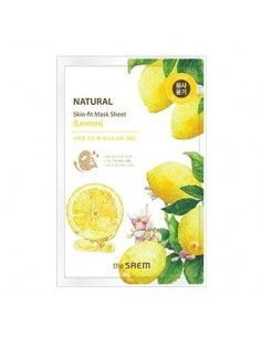 [the SAEM] Natural Skin Fit Mask Sheet - Lemon 20g