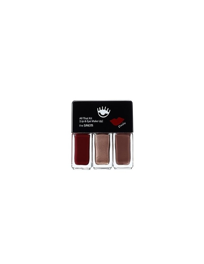 [the SAEM] All That Kit Lip & Eye Make up 12ml