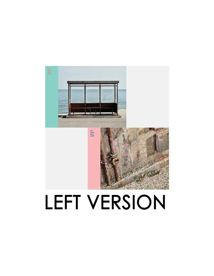 BTS - YOU NEVER WALK ALONE CD + POSTER (LEFT VERSION)