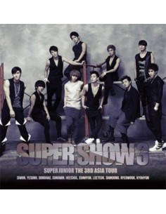 Super Junior The 3rd Tour Concert ALUBM Super Junior 3 - 2CD + Poster