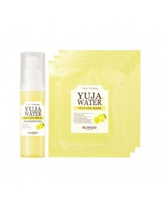 [SKIN FOOD] Yuja Water C Vita Eye Serum Set