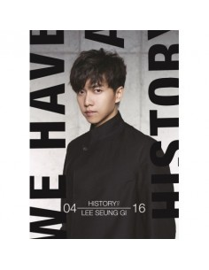 LEE SEUNG GI - THE HISTORY OF LEE SEUNG GI SPECIAL ALBUM (1USB)