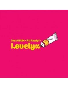 LOVELYZ 2nd Album - R U READY CD + Poster