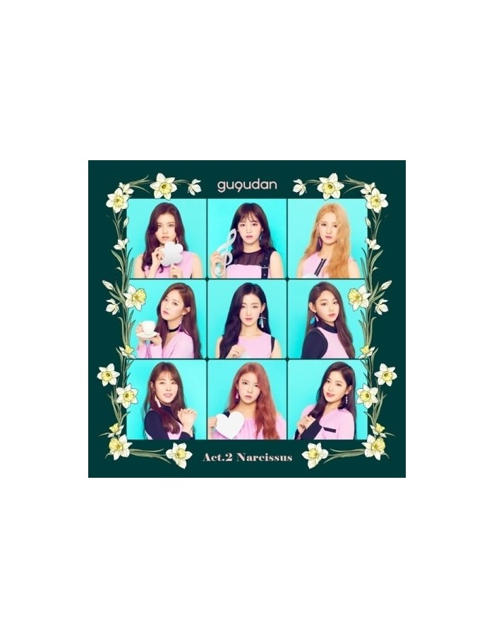 구구단 gugudan - Act. 2 Narcissus CD + Poster
