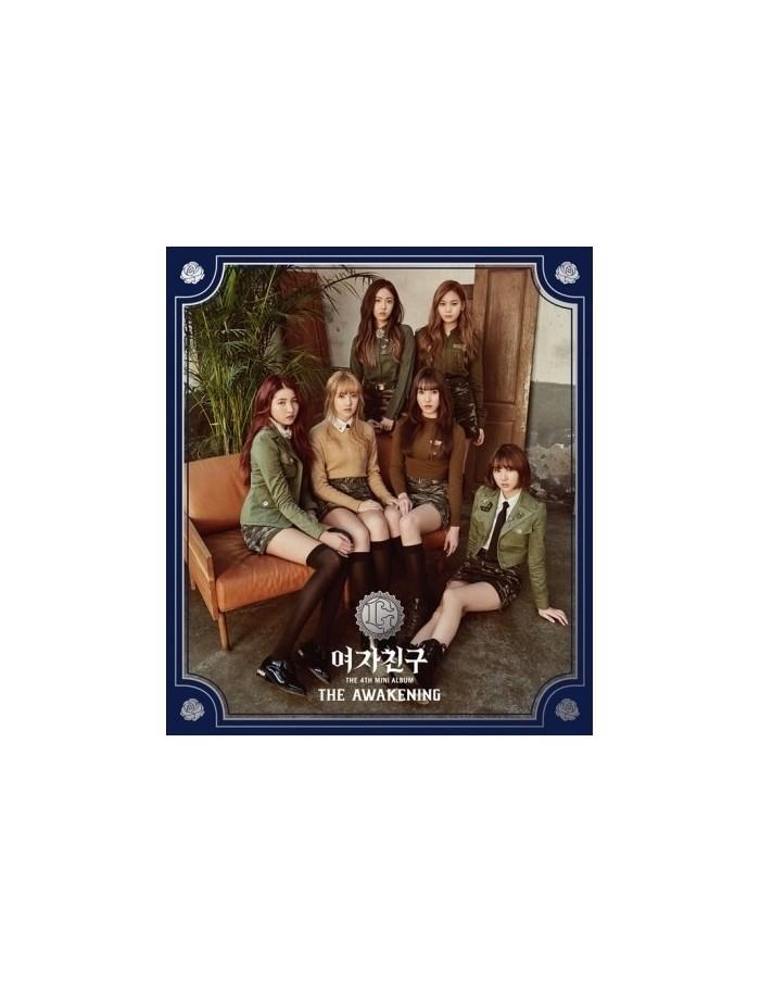 GFRIEND 4th Mini Album- THE AWAKENING (MILITARY VER.) CD + Poster