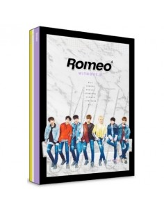 ROMEO 4th Mini Album - WITHOUT U CD + Poster [NIGHT VER]