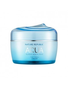 [ Nature Republic ] Super Aqua Max Fresh Watery Cream(For Oily Skin)