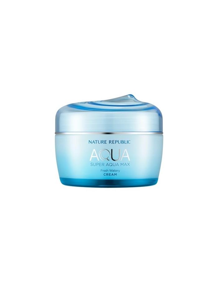 [ Nature Republic ] Super Aqua Max Fresh Watery Cream(For Oily Skin)