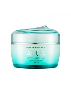 [ Nature Republic ] Super Aqua Max Combination  Watery Cream (For Combination Skin)