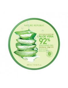 [Nature Republic] Soothing and Moisture Aloe Vera 92% Soothing Gel 300ml