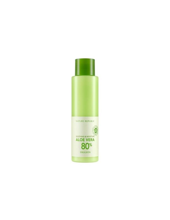 [ Nature Republic ] Soothing & Moisutre Aloe Vera 80% Emulsion 160ml