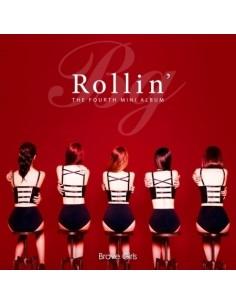 BRAVE GIRLS 4th Mini Album - ROLLIN' CD + Poster