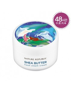 [ Nature Republic ] SHEA BUTTER STEAM CREAM - FRESH 100ml