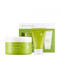 [ Nature Republic ] GREEN DERMA Mild Cream Set