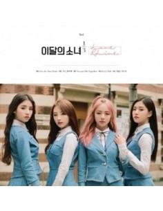 이달의 소녀 1/3 1st Mini Album - LOVE & LIVE CD + POSTER [NORMAL]