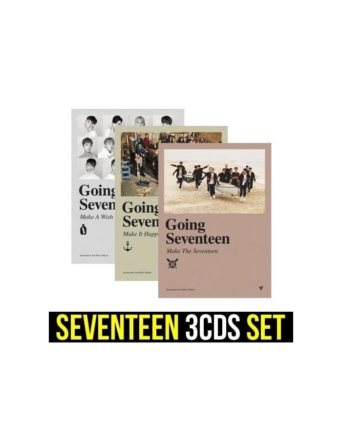 [SET] SEVENTEEN 3rd Mini Album - GOING SEVENTEEN 3CDS
