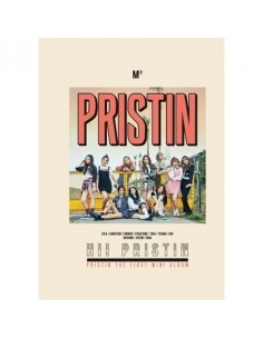 PRISTIN 1ST MINI ALBUM - HI! PRISTIN CD + Poster (PRISMATIC VER)