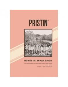 PRISTIN 1ST MINI ALBUM - HI! PRISTIN CD + Poster (ELASTIN VER)