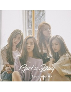 GIRLS DAY 5th Mini Album- GIRLS DAY EVERYDAY 5 CD + Poster