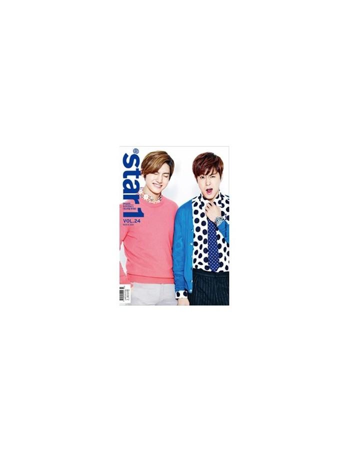 Magazine At Star1 2014-03 TVXQ