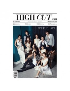 Bi-Weekly Newspaper HIGH CUT Vol 67 Lee Dong-Wook, Kim Bum, Lee Gwang-Soo, Yoo Yun-Suk