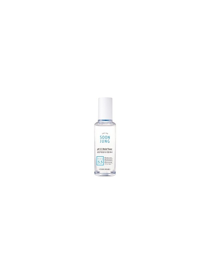 [Etude House] SOON JUNG pH 5.5 Relief Toner 80ml (Easy Size)