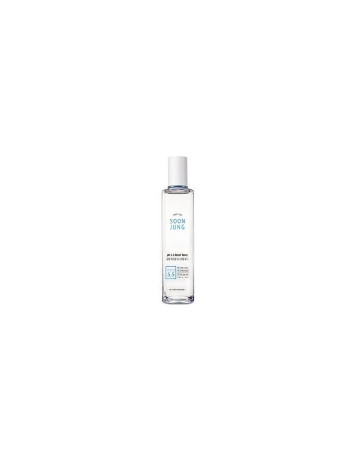 [Etude House] SOON JUNG pH 5.5 Relief Toner 180ml (Regular Size)