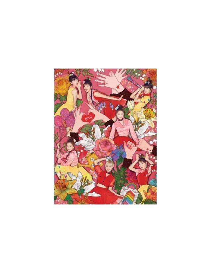 OH MY GIRL 4th Mini Album - COLORING BOOK CD + Poster