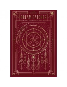 DREAMCATCHER 2nd mini album- FALL ASLEEP IN THE MIRROR CD + Poster
