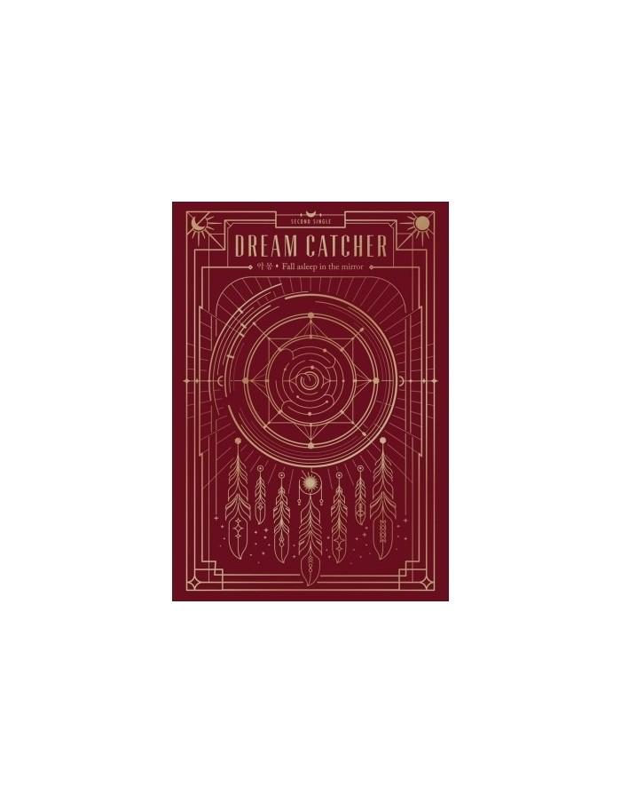 DREAMCATCHER 2nd mini album- FALL ASLEEP IN THE MIRROR CD + Poster