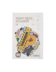 [LINE FRIENDS Official Goods] Point deco Sticker 4