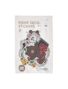 [LINE FRIENDS Official Goods] Point deco Sticker 6